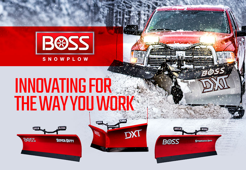 BOSS SNOWPLOW - Innovating For The Way You Work
