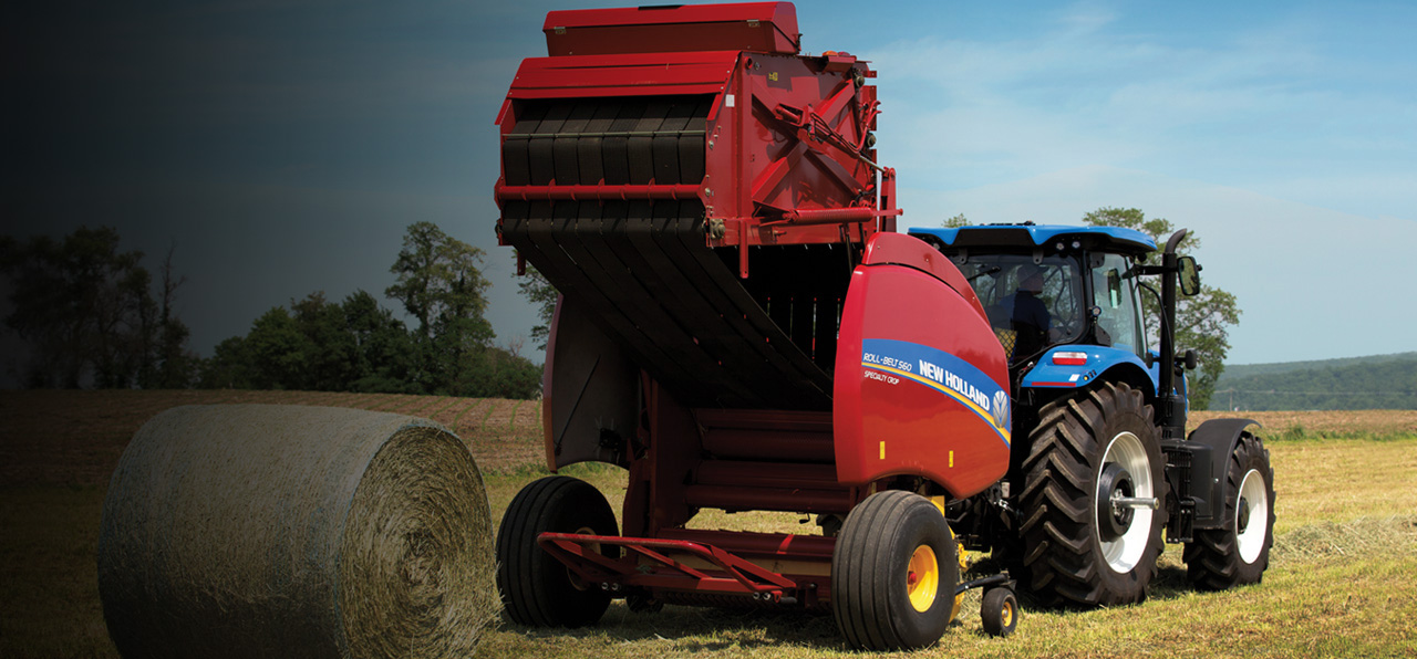 New Holland Agriculture - More Power and Productivity.